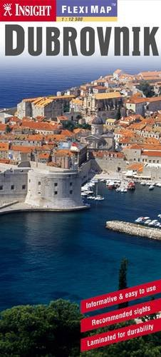 9789812583291: Insight Flexi Map: Dubrovnik (Insight Flexi Maps)