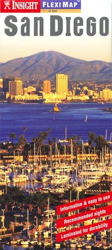 9789812583888: San Diego CA Insight Fleximap