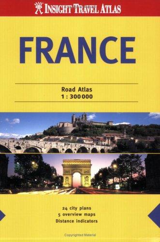 9789812584342: France Insight Travel Atlas (Insight Travel Atlases)