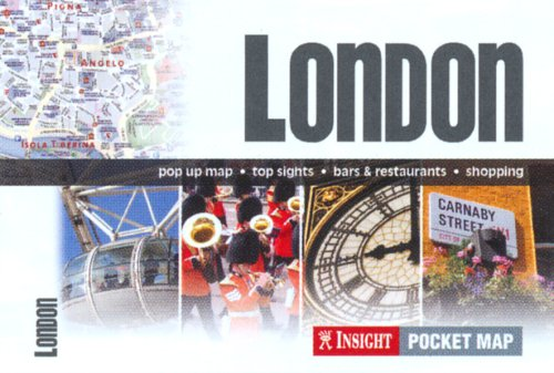 London Insight Pocket Map (Insight Maps)