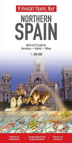 9789812588975: Northern Spain Insight Travel Map (Insight Travel Maps)