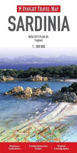 9789812589033: Insight Travel Maps: Sardinia