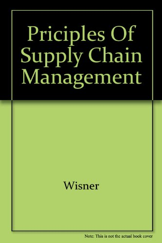 9789812656834: Priciples of Supply Chain Management