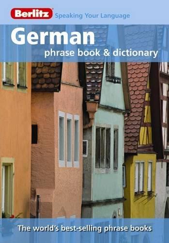 9789812680426: German Berlitz Phrase Book (Berlitz Phrase Books)