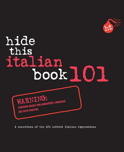 9789812680549: Hide This Italian Book 101 (Hide This Book 101)