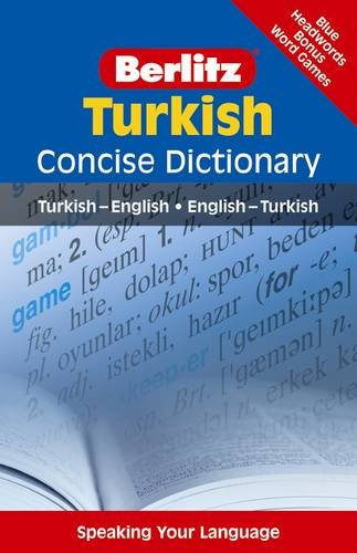 9789812680594: Turkish Concise Dictionary (Berlitz Concise Dictionary)