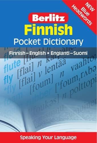 Finnish Pocket Dictionary: Finnish-English / Englanti-Suomi (Berlitz Pocket Dictionary): ...