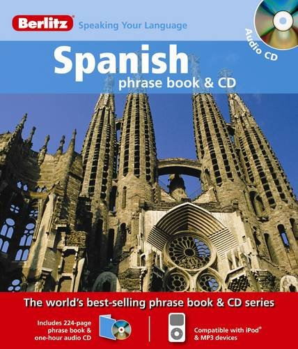 9789812681959: Berlitz Spanish Phrase Book & CD (English and Spanish Edition)