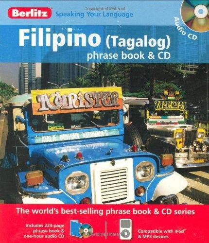 9789812681973: Berlitz Filipino (Tagalog) Phrase Book & CD (English and Tagalog Edition)