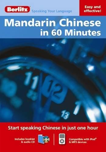 9789812682055: Berlitz Mandarin Chinese in 60 Minutes (Berlitz in 60 Minutes)