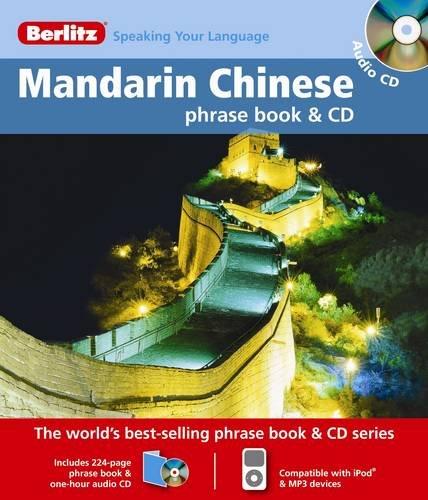 9789812682086: Berlitz Mandarin Chinese Phrasebook & CD