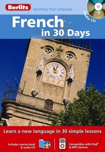 Berlitz Language: French In 30 Days (Berlitz: Funke, Micheline