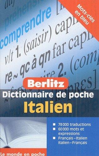 9789812682352: italien dictionnaire de poche