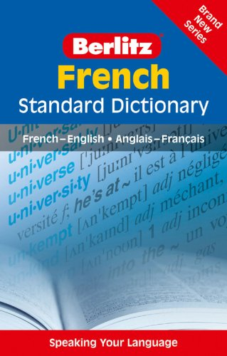 9789812683595: Berlitz: French Standard Dictionary (Berlitz Standard Dictionary)