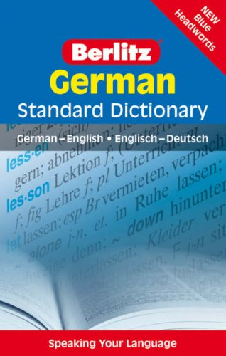 9789812683601: Berlitz Language: German Standard Dictionary (English and German Edition)