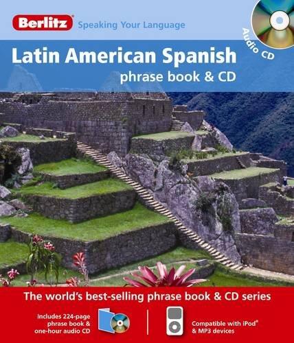9789812684011: Berlitz Latin American Spanish Phrase Book & CD