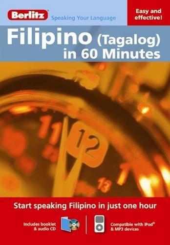 9789812686084: Berlitz Language: Filipino (Tagalog) In 60 Minutes (Berlitz in 60 Minutes)