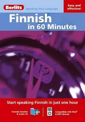 9789812686091: Finnish in 60 Minutes (Berlitz in 60 Minutes)