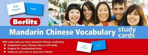 9789812686923: Mandarin Chinese Vocabulary Study Cards
