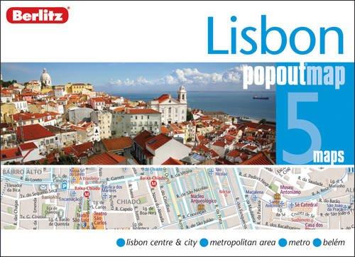 9789812687456: Lisbon Berlitz PopOut Map (Berlitz PopOut Maps)