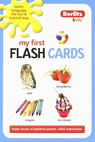 9789812689733: My First Flash Cards (Berlitz Kidz)