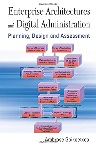 Enterprise Architectures And Digital Administration: Planning, Design,: Ambrose Goikoetxea