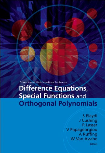 9789812706430: Difference Equations, Special Functions and Orthogonal Polynomials: Proceedings of the International Conference: Munich, Germany 25-30, July 2005