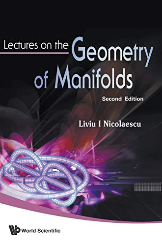 9789812708533: Lectures on the Geometry of Manifolds