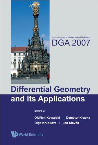 Differential geometry and its applications; proceedings.: International Conference on