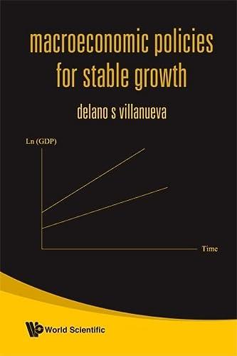 Macroeconomic Policies for Stable Growth (Hardback): Delano S. Villanueva