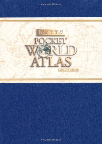 Insight Pocket World Atlas: Sapphire