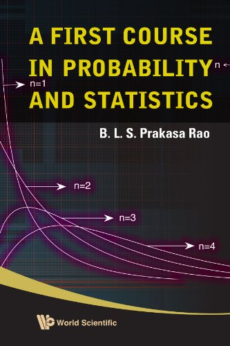 9789812836533: First course in probability and statistics, a
