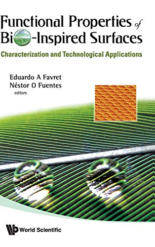 9789812837011: Functional Properties of Bio-Inspired Surfaces: Characterization and Technological Applications