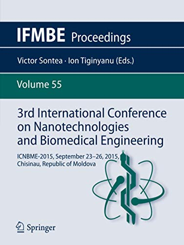 3rd International Conference on Nanotechnologies and Biomedical Engineering: Victor Sontea