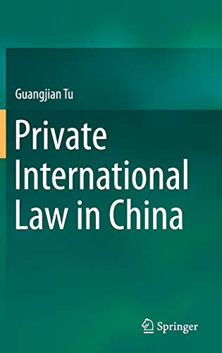 9789812879929: Private International Law in China