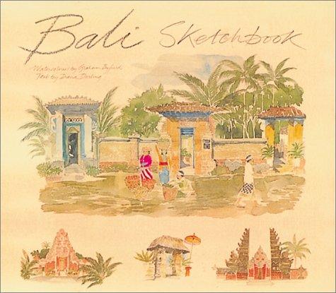 9789813018594: Bali sketchbook: watercolours