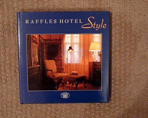 Raffles Hotel style: Liu, Gretchen