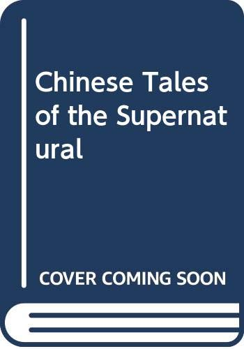 9789813029972: Chinese Tales of the Supernatural Vol. 1