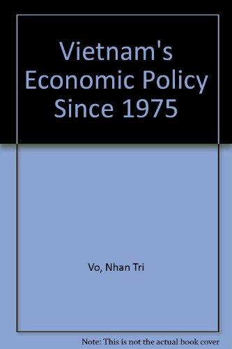 9789813035607: Vietnam's Economic Policy Since 1975