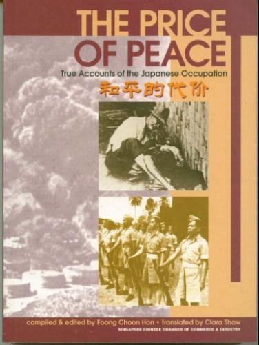 The price of peace: True accounts of