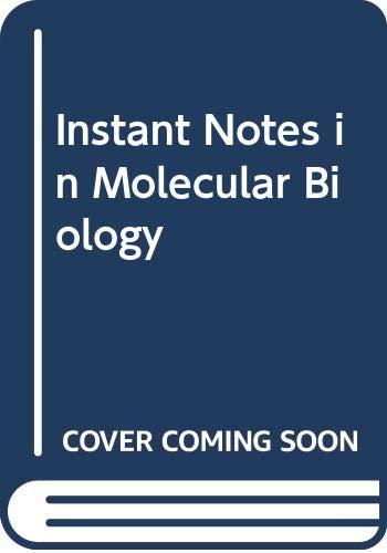 9789813083394: Instant Notes in Molecular Biology
