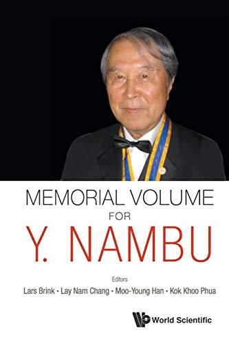 9789813108325: Memorial Volume for Y. Nambu