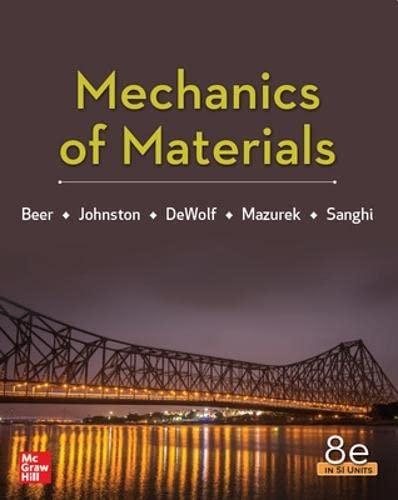 9789813158979: Mechanics Of Materials 8th Edition, Si Units