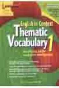 9789814070096: English in Context: Thematic Vocabulary Bk.1 (English in Context)