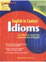 9789814070645: English in Context: Idioms (English in Context)