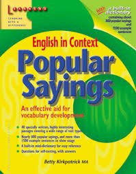 English in Context: Popular Sayings (English in Context)
