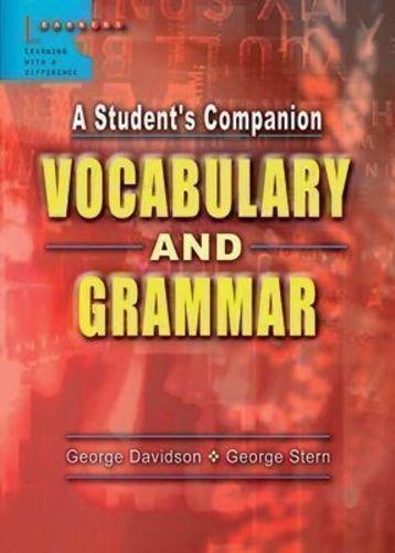 9789814107853: A Student's Companion Vocabulary and Grammar
