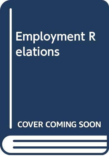 9789814119108: Employment Relations in Singapore