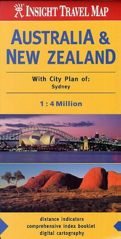 9789814120173: Australia and New Zealand Insight Travel Map