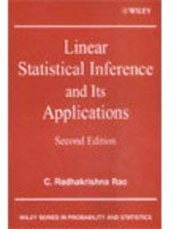 9789814126175: Linear Statistical Inference & Its Applications (Livre en allemand)